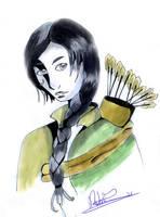 Katniss Everdeen by touda-chan