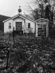 Small Town Church by WLCUrbex