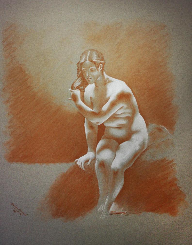 Bathing Venus by jack12321