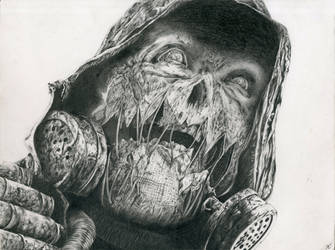 Scarecrow (Graphite) by jack12321