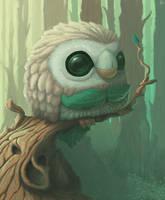 Pokemon: Rowlet by Ingoro