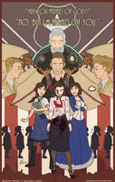 Bioshock Infinite: In the Hands of a God by handraw