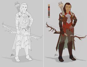 Inquisitor Ariadne Trevelyan - WIP