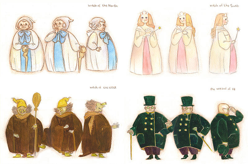 wizard of oz characters by skylite-compass