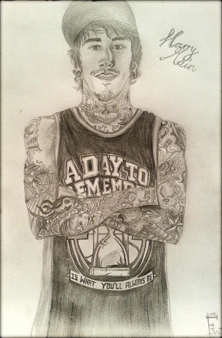 Harry Main tattoos drawing by francyliiu