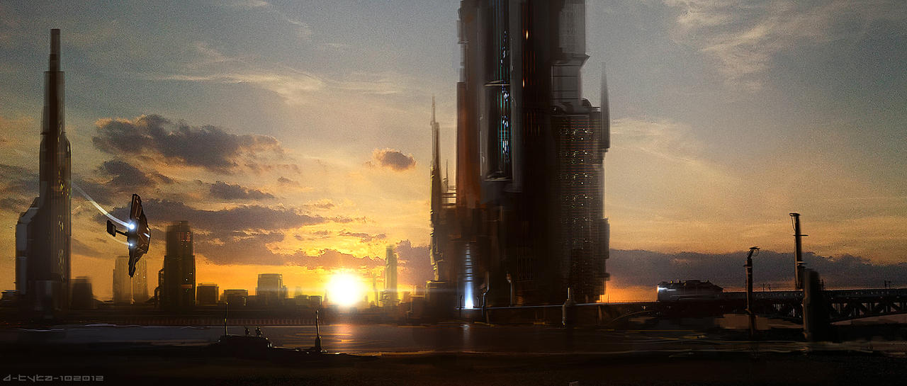 Future Warsaw by artificialdesign