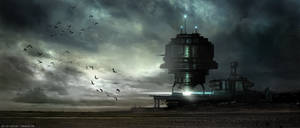 Space Port by artificialdesign
