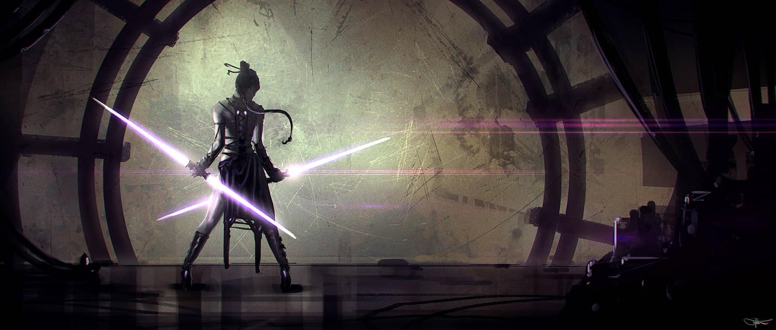 Jedi Master by artificialdesign