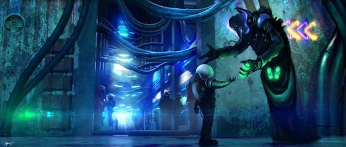 Alien Market by artificialdesign