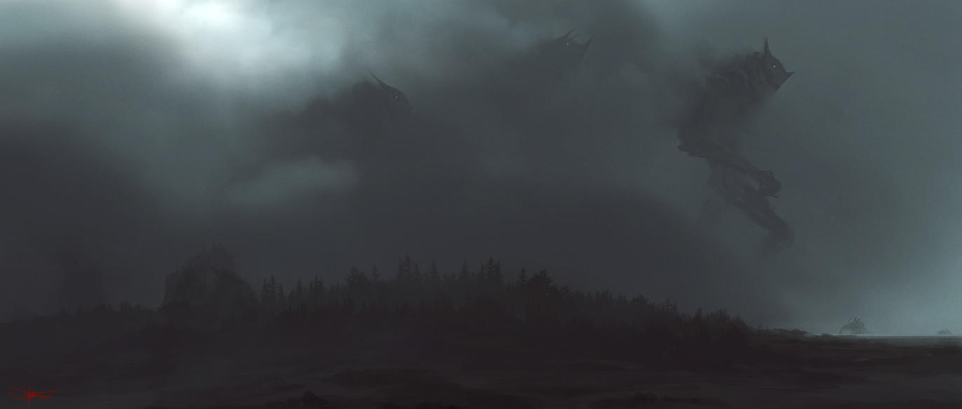 Weather Deamons by artificialdesign
