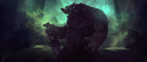 Werewolfie by artificialdesign