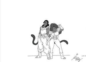 The Saiyan Patrol Couple