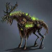 Radioactive Stag by heroic-clerk
