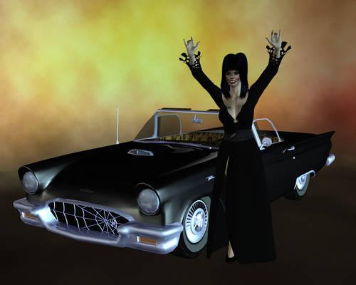 Elvira and macabre mobile