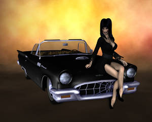 Elvira and macabre mobile II