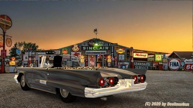 Elvira's Macabre Mobile 2020 (Back view)