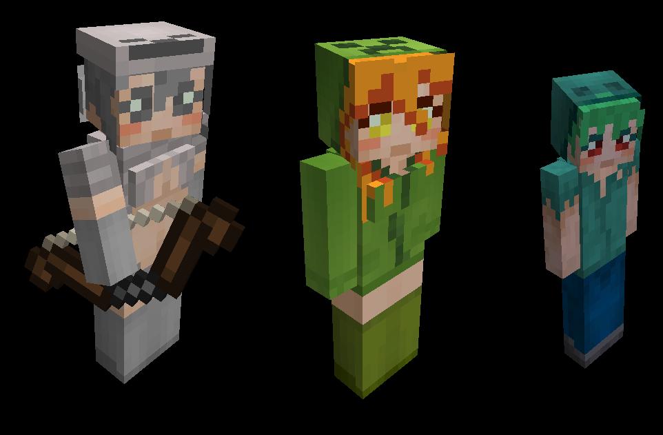 Some Random Minecraft Thing By Jessica On DeviantArt - Mob skins fur minecraft