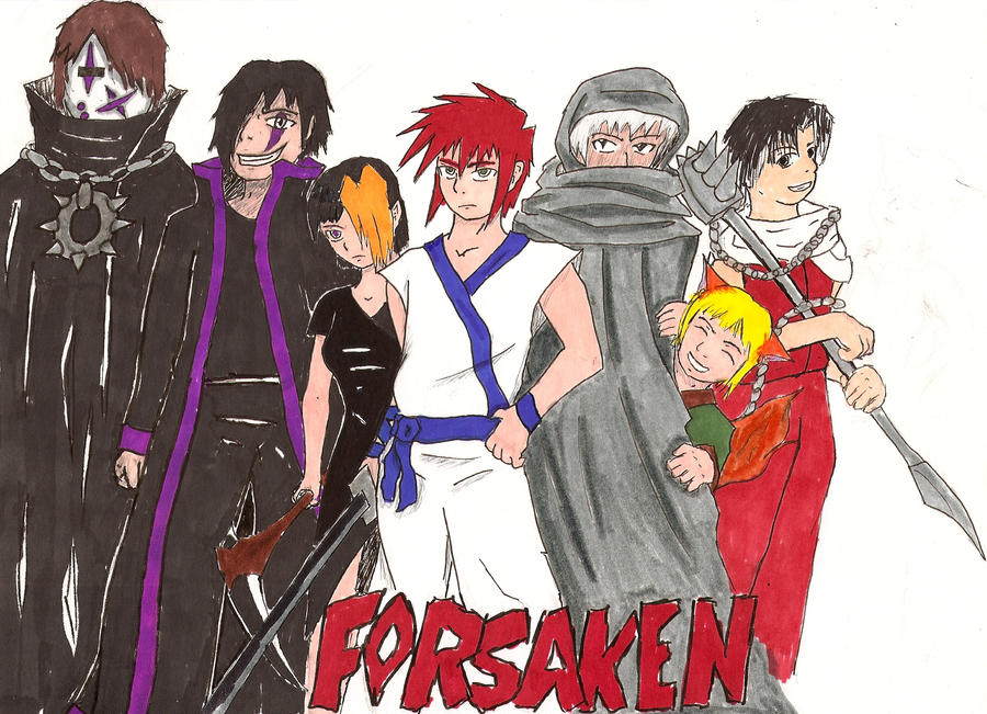 The Team Forsaken by Elleron77
