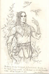 His fluffiness Adarion the silvan elf