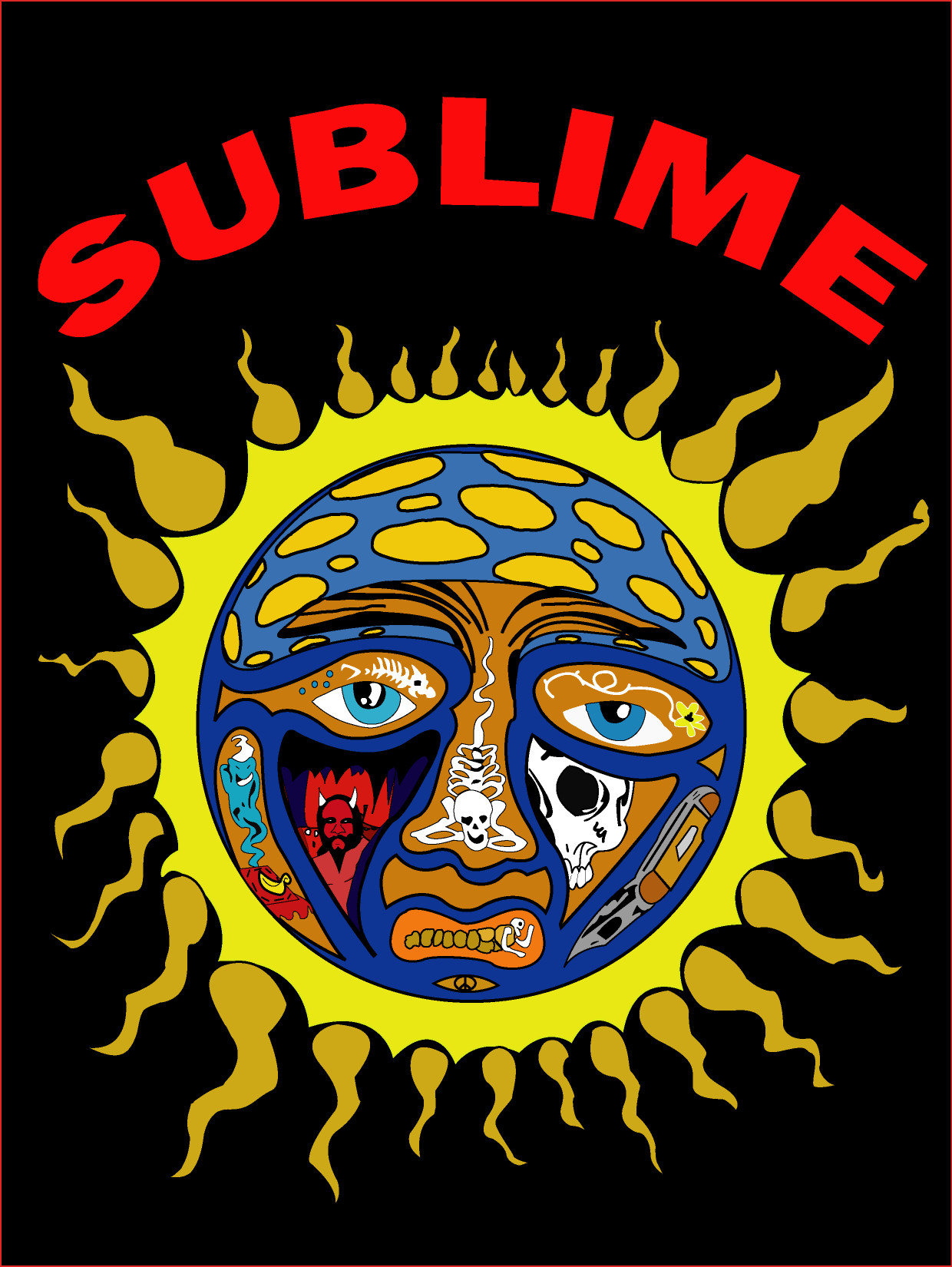 sublime sun traced by kevob1577 on deviantart