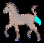 N6868 Padro Foal Design for Takai-Yubikiri