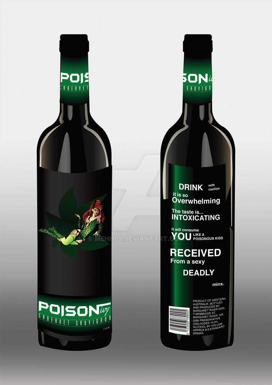 Poison Ivy Red Wine by MeHh05