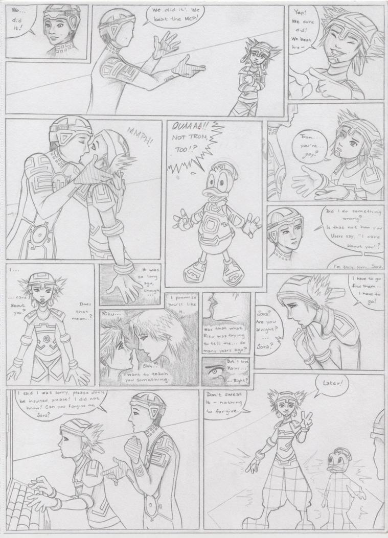Kingdom Hearts II, My Way III by SoraxTron