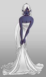 Dehlaila in priestess garments