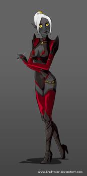 Lithia, assasin suit