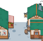 Spirit Master Town Preview
