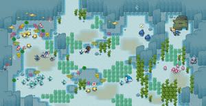 Underwater tiles no overlay