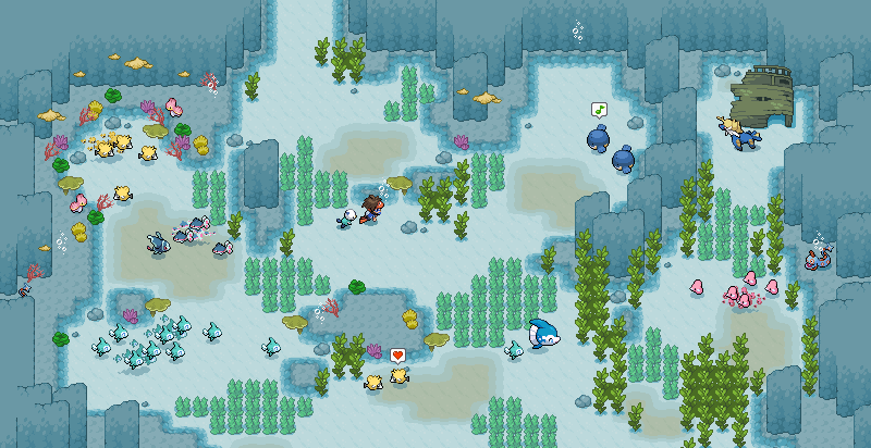 Underwater tiles no overlay by Kyle-Dove
