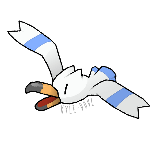 PokeCollab - Wingull by Kyle-Dove on deviantART