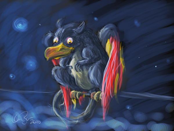 Louise Selvich It__s_a_rat_____bird__by_vicber