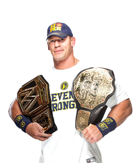 WWE John Cena World Heavyweight Champion By SimonLee1