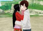 My kiss with (Her Majesty) Empress Boa Hancock