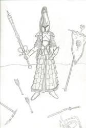 Swordmistress of Hoeth