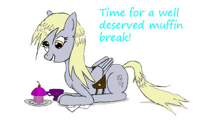 Derpy Hooves (Colored)