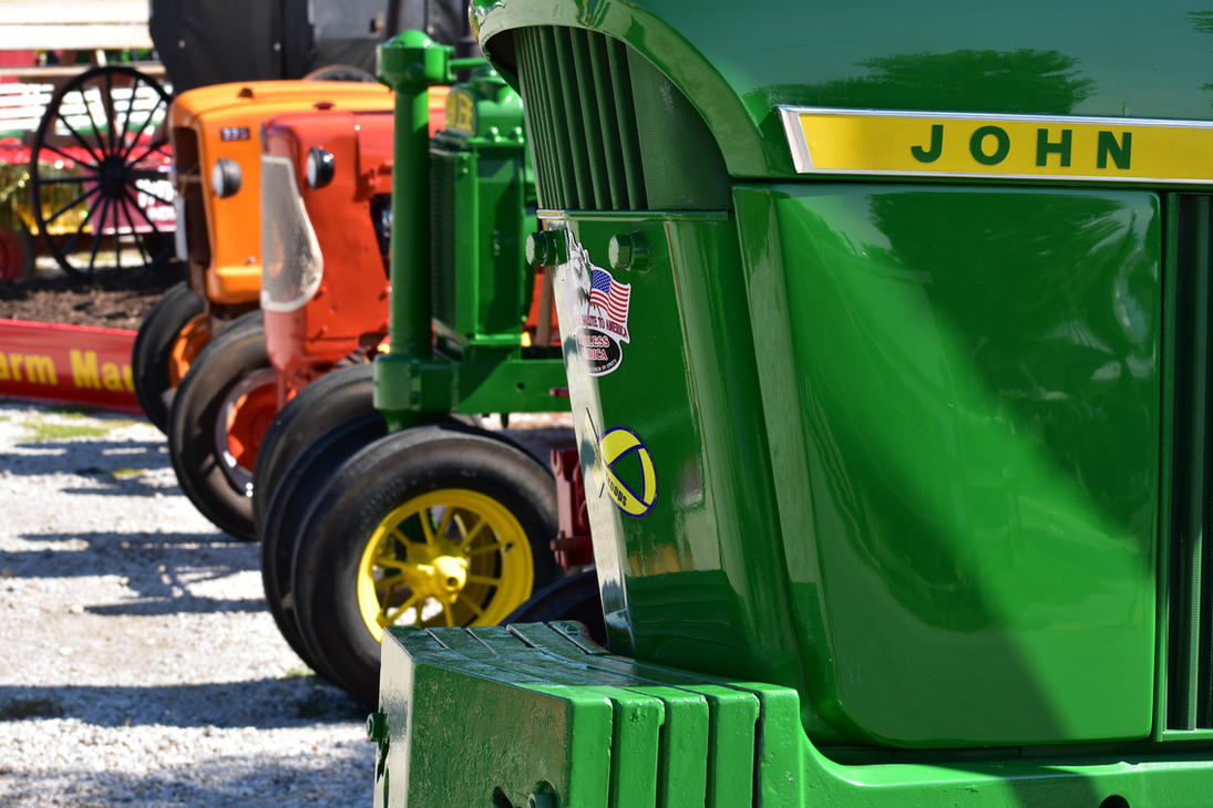 Tractors at the State Fair by HoosierDesign