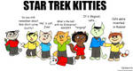 Star Trek Kitties by Vemavra