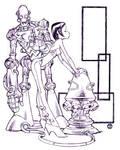 Robot and Girl
