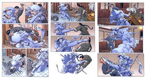 WOTR fight scene