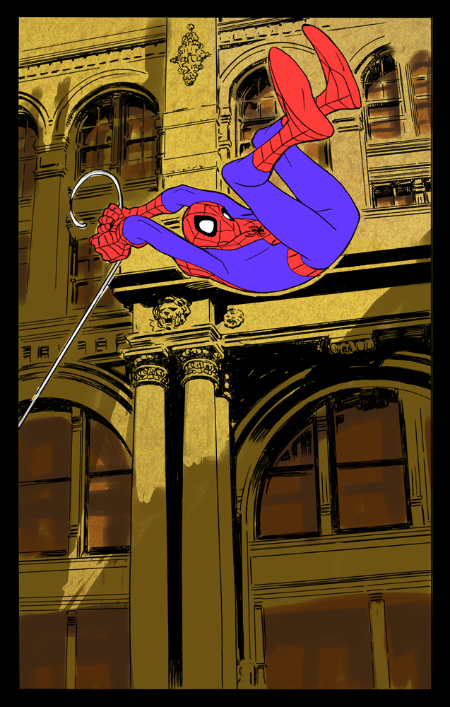 yet another spidey piece by johnsonverse