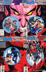 Wonder Man Covers 22-23-24-25
