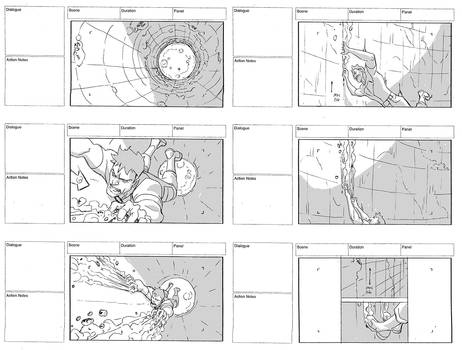 YoungJustice storyboard