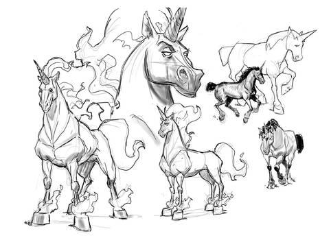 unicorns-practice