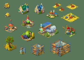 Fantasy Buildings 01 by roma-n