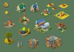 Fantasy Buildings 01
