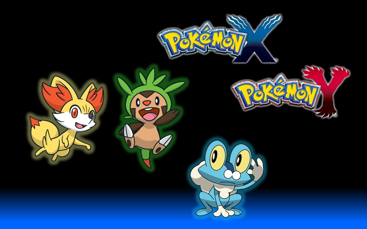 Pokemon X Y Main Pokemons Wallpaper 436847803