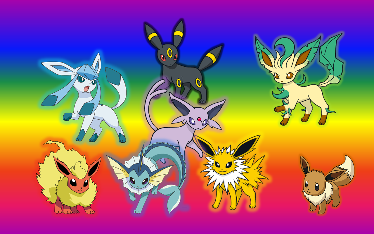 Eevee Evolutions Pokemon X Images